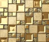 高档墙贴瓷砖金色