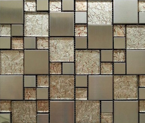 高档墙贴瓷砖金箔